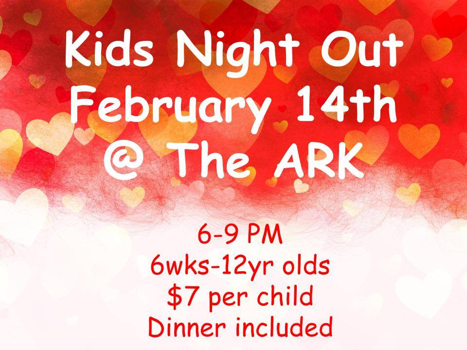 Kid's Night Out @ The ARK